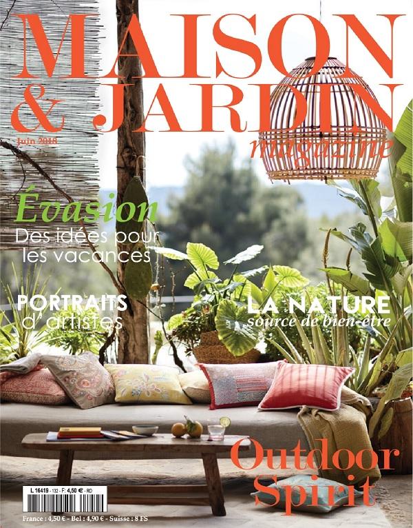 t l charger maison et jardin magazine n 132 juin 2018 gratuitement. Black Bedroom Furniture Sets. Home Design Ideas